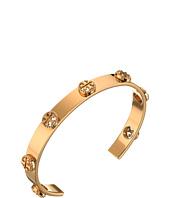 Tory Burch - Milgrain Logo Cuff Bracelet