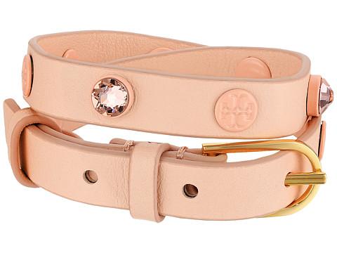 Tory Burch Crystal Beaded Double Wrap Bracelet