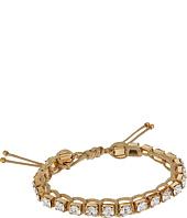 Tory Burch - Crystal Macrame Bracelet