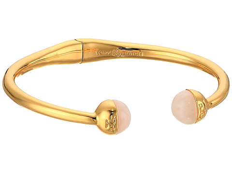Tory Burch Logo Bead Hinged Bracelet