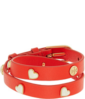Tory Burch - Amore Heart Double Wrap Bracelet