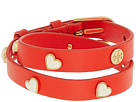 Tory Burch - Amore Heart Double Wrap Bracelet