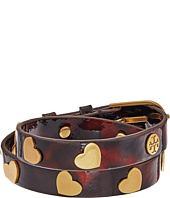 Tory Burch - Metal Hearts Double Wrap Bracelet