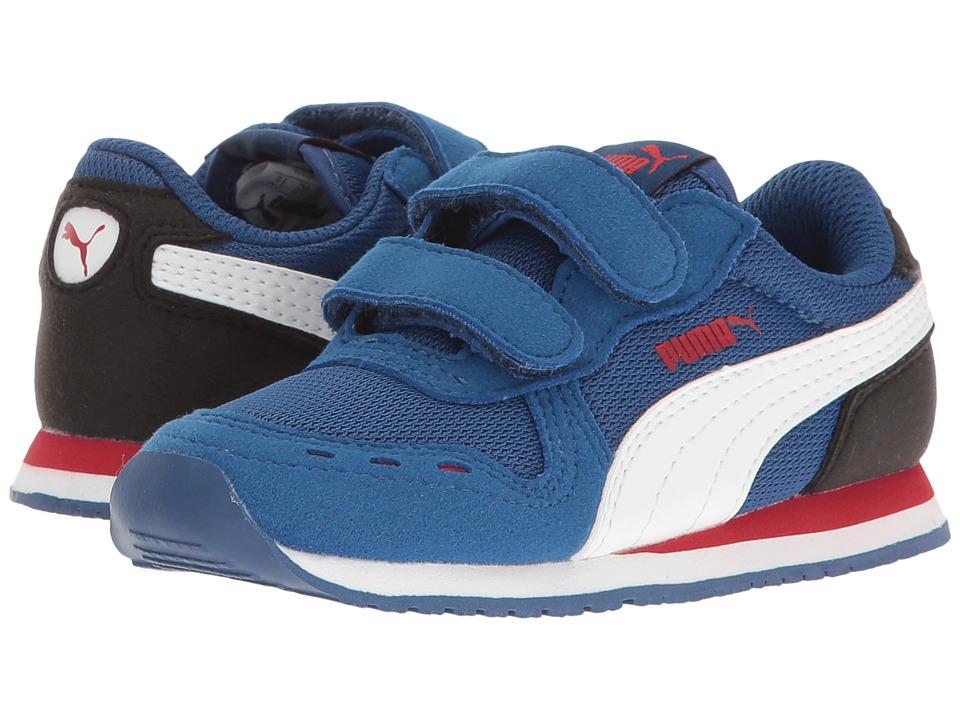 Puma Kids Cabana Racer Mesh V Inf (Toddler) (True Blue/Puma White) Boys Shoes