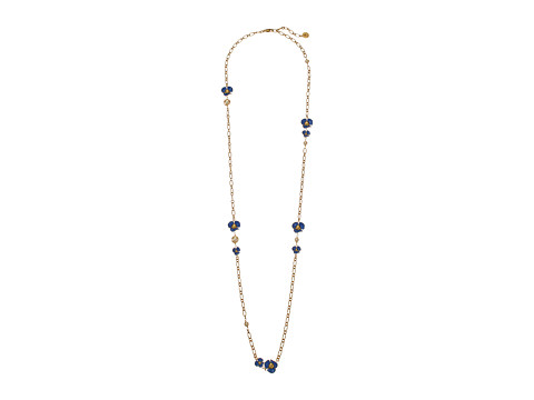 Tory Burch Fleur Rosary Necklace