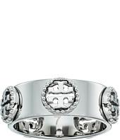 Tory Burch - Milgrain Logo Ring