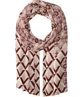 Tory Burch - Logo Mosaic and Signature Print Oblong