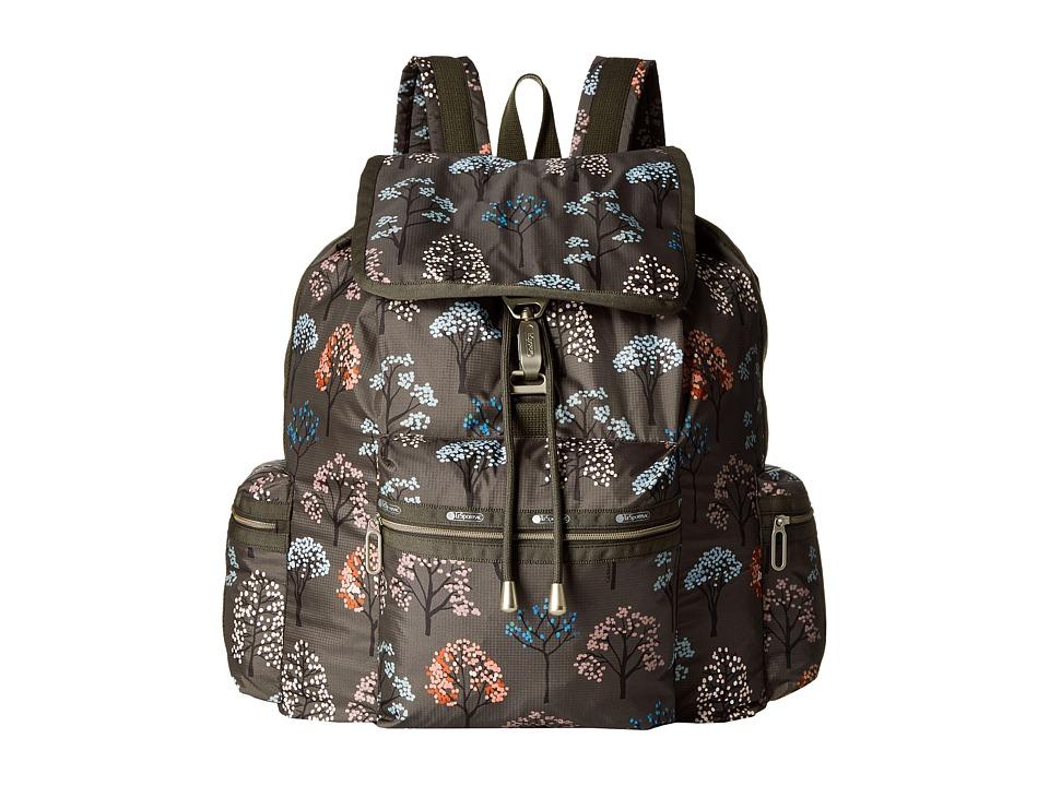 LeSportsac - 3-Zip Voyager (Tree Top) Handbags