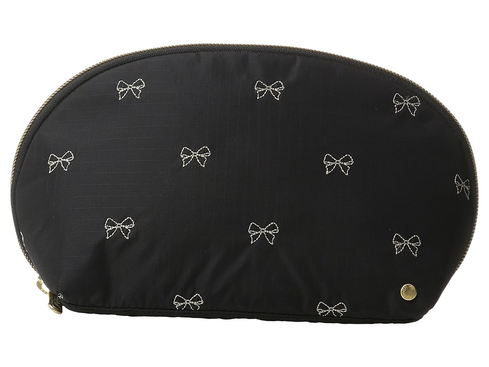 LeSportsac - Oxford Cosmetic (Petite Bows Black) Cosmetic Case