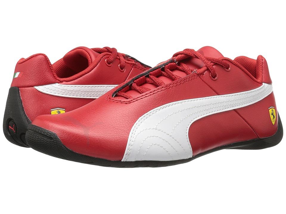 Puma Kids Future Cat SF Jr (Big Kid) (Rosso Corsa/Rosso Corsa/Puma White) Boys Shoes