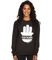 Spiritual Gangster - Namsate Stripes Muse Raglan Sweatshirt