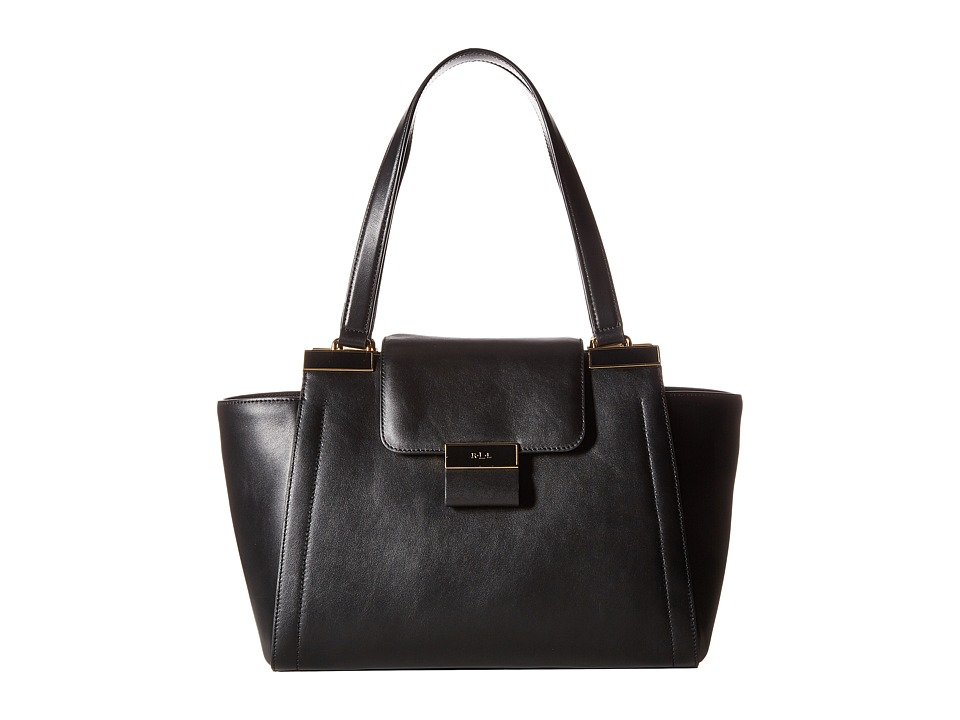 LAUREN Ralph Lauren - Lynwood Carine Shopper (Black) Handbags