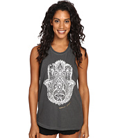 Spiritual Gangster - Hamsa Eye Stamp Rocker Tank Top