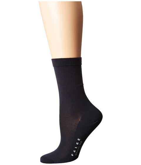 Falke Sensual Silk Ankle - Dark Navy