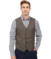 Perry Ellis - Regular Fit Pattern Twill Suit Vest
