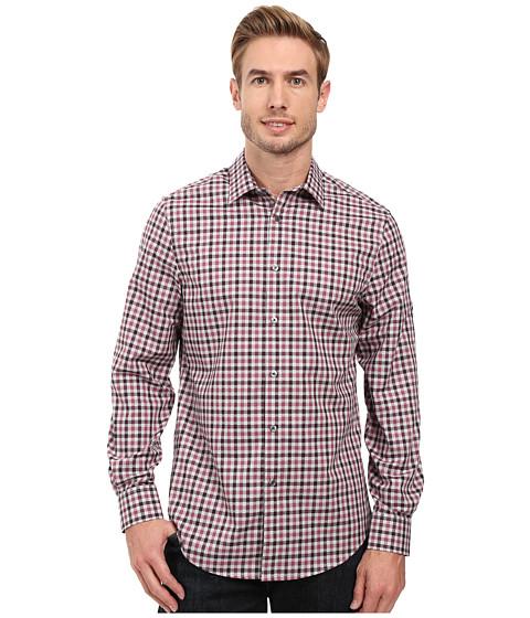 Perry Ellis Regular Fit Non Iron Check Pattern Shirt