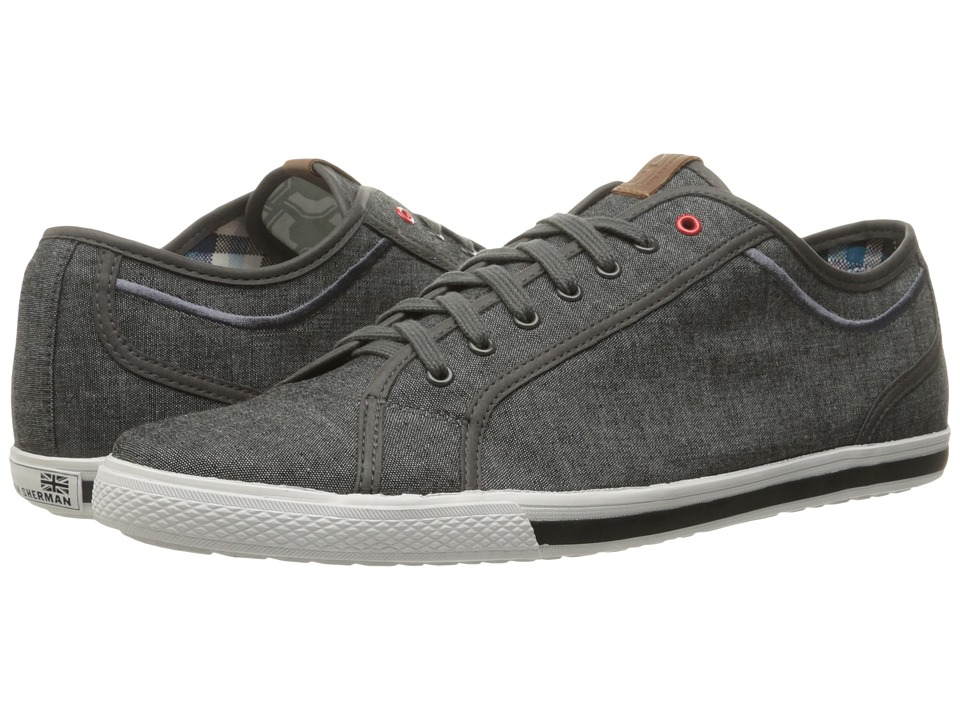 Ben Sherman Chandler Lo (Grey Chambray) Men