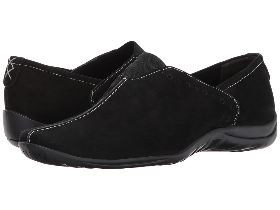 Walking Cradles Adria (Black Roughout) Women