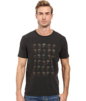 John Varvatos Star U.S.A. - Rows of Skulls Graphic Tee K2713S2B