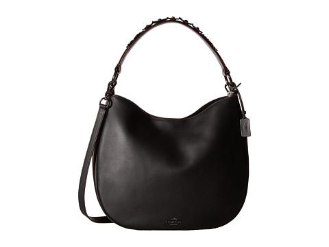 COACH Willow Floral Coach Nomad Handbag - DK/Black