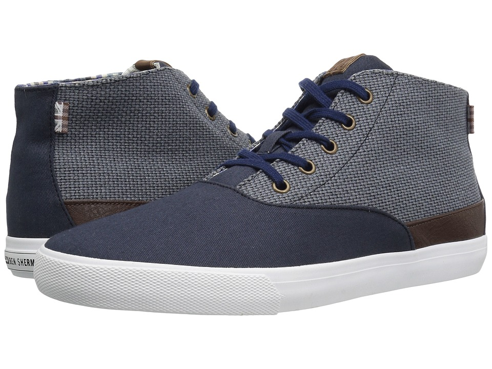 Ben Sherman Pete Hi (Navy) Men
