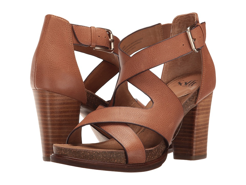 Sofft Canita (Sand Cow Oily Veg) High Heels