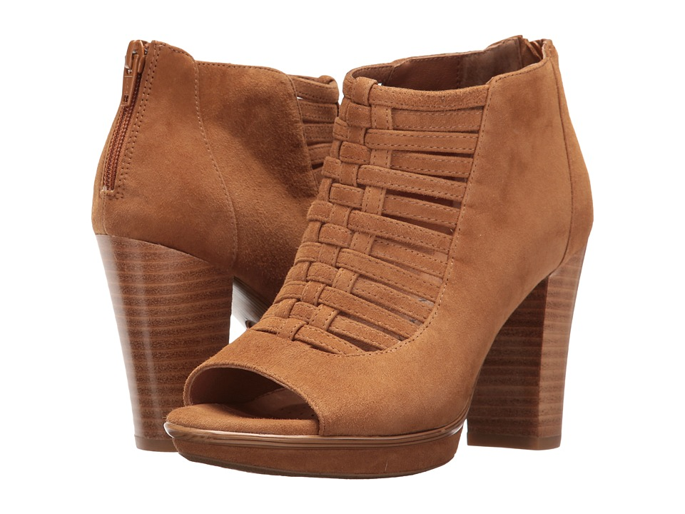 Sofft Renita (Golden Tan King Suede) High Heels