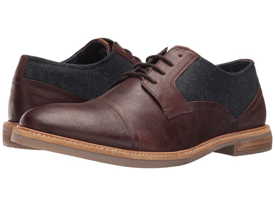 Ben Sherman - Luke Cap Toe (Brown) Men's Lace up casual Shoes