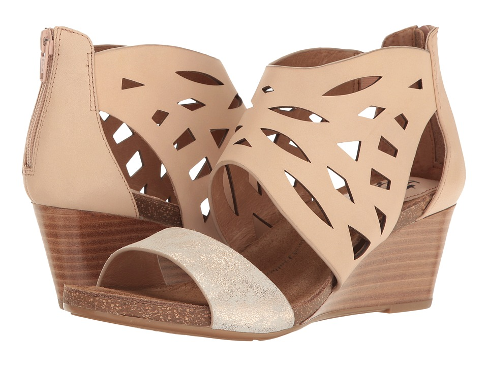 Sofft Mystic (Blush/Ivory M-Vege/Distressed Foil Suede) Women
