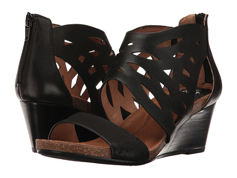 Sofft Mystic - Black Cow Quilin/Distressed Foil Suede