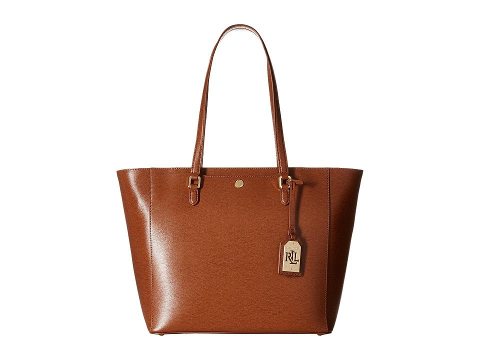 LAUREN Ralph Lauren - Newbury Halee Tote (Lauren Tan) Tote Handbags