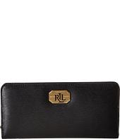LAUREN Ralph Lauren - Newbury LRL Snap Continental Wallet