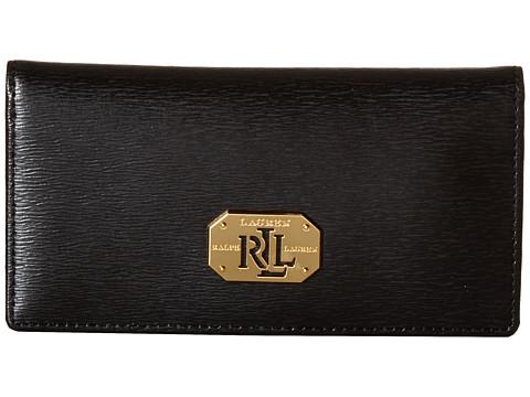 LAUREN Ralph Lauren Newbury LRL Slim Wallet - Black