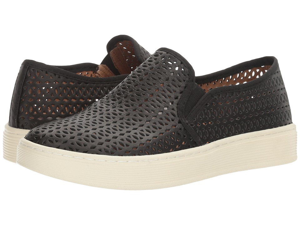 Sofft Somers II (Black M-Vege Perf) Slip-On Shoes