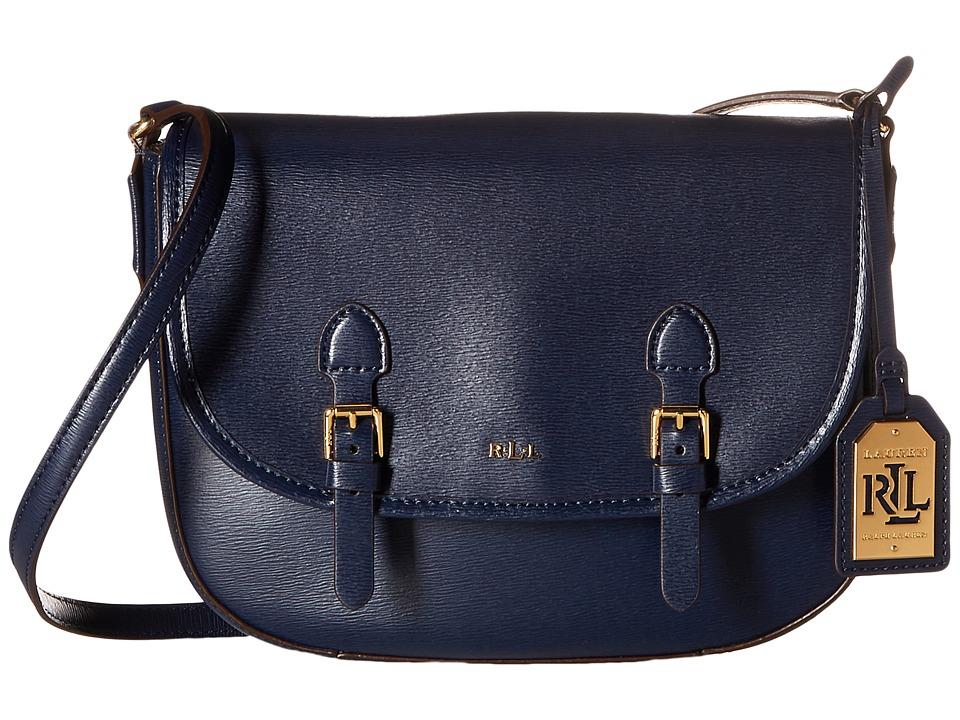 LAUREN Ralph Lauren - Tate Messenger (Navy/Cocoa) Messenger Bags