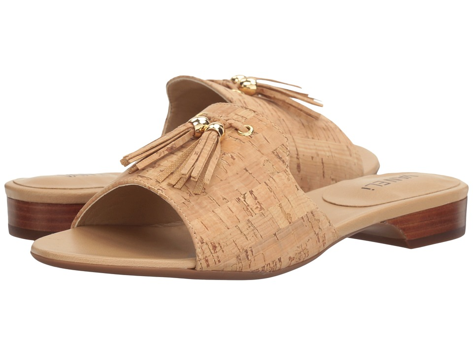 Vaneli Blizzi (Natural Cork/Gold Trim) Women