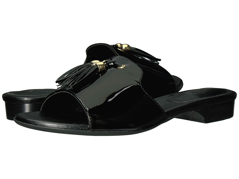 Vaneli Blizzi (Black Patent/Gold Trim) Women