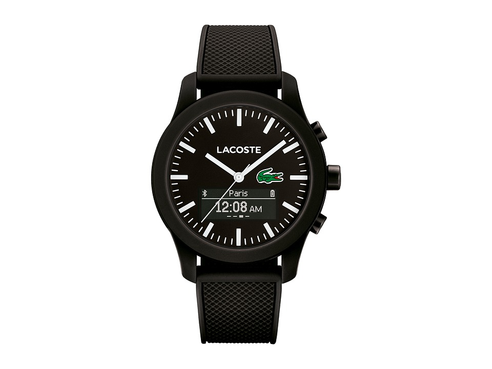 Lacoste - 2010881 - 12.12 CONTACT Smartwatch (Black) Watches