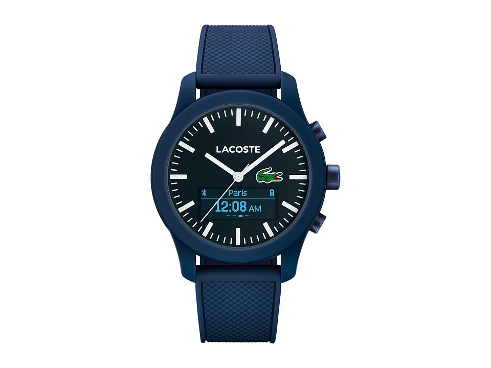 Lacoste - 2010882 - 12.12 CONTACT Smartwatch (Blue) Watches