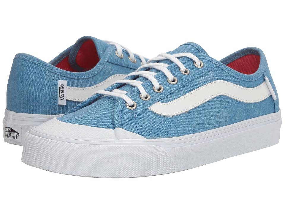 Vans Black Ball SF ((Washed Canvas) Cendre Blue) Women
