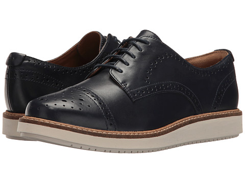 Clarks Glick Shine - Navy Leather