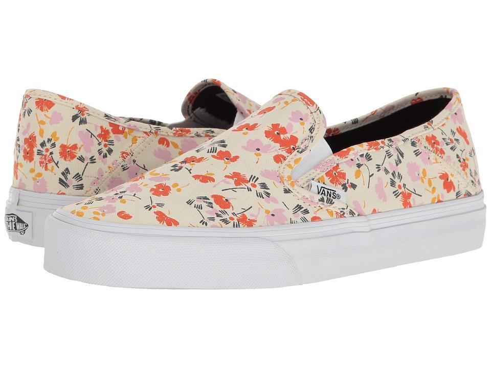 Vans - Slip-On SF ((Leila Hurst) 70s Floral) Womens Skate Shoes