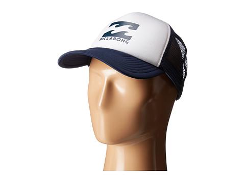 Billabong Podium Trucker Hat - White/Navy
