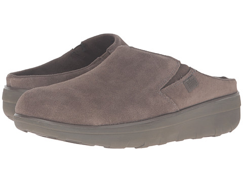 FitFlop Loaff Suede Clogs - Bungee Cord
