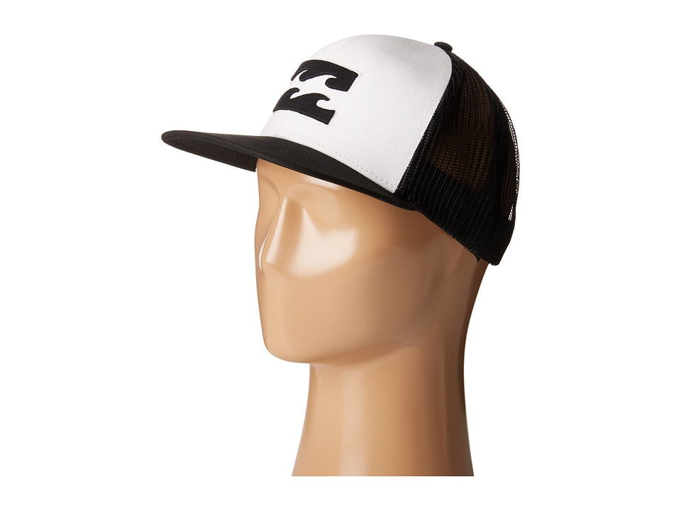 Billabong - All Day Trucker Hat (White 2) Caps