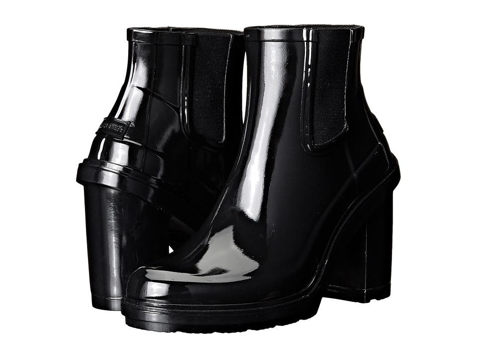 Hunter Original Refined High Heel Chelsea (Black) Women