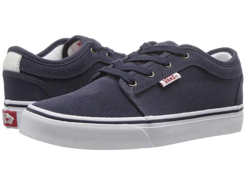 Vans Kids - Chukka Low (Little Kid/Big Kid) (Parisian Night/White/Red) Boys Shoes