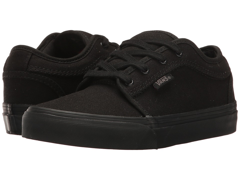 Vans Kids - Chukka Low (Little Kid/Big Kid) (Blackout) Boys Shoes