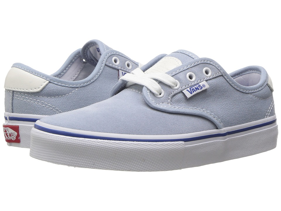 Vans Kids Chima Ferguson Pro (Little Kid/Big Kid) (Blue Fog/White) Boys Shoes