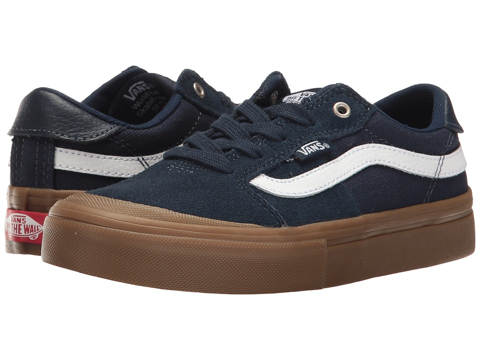 Vans Kids Style 112 Pro (Little Kid/Big Kid) (Navy/Gum/White) Boys Shoes